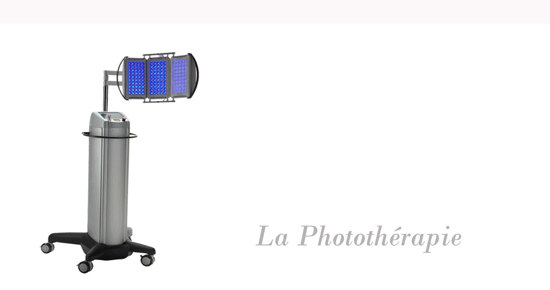 soins de phototherapie gracia institut
